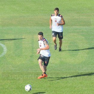 Marcos Minetti y Matías Garrido formarán parte del mediocampo de Patronato.
