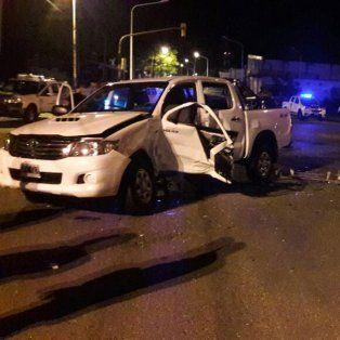 Una joven murió tras chocar dos vehículos en el Acceso Norte