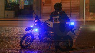 Investigan un robo en calle Francia