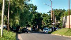 Temor. En calle Clarck y Giorda los vecinos se atemorizaron ante el tiroteo.