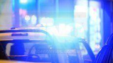 un conductor ebrio casi provoco una tragedia en una estacion de servicio