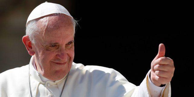 El Papa Francisco, candidato al Nobel de la Paz