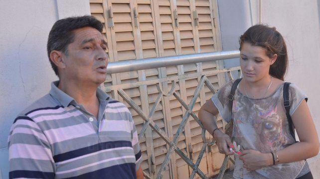 Luis e Ingrid. La actual pareja y la hija mayor de Evangelina