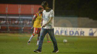 Darío Ortiz se lamentó por los goles recibidos por falta de concentración.