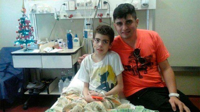 Franco, el niño que recibió un trasplante de corazón hace 12 años, la sigue peleando