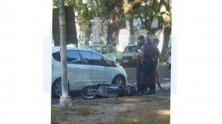 Accidente de tránsito en Paraná
