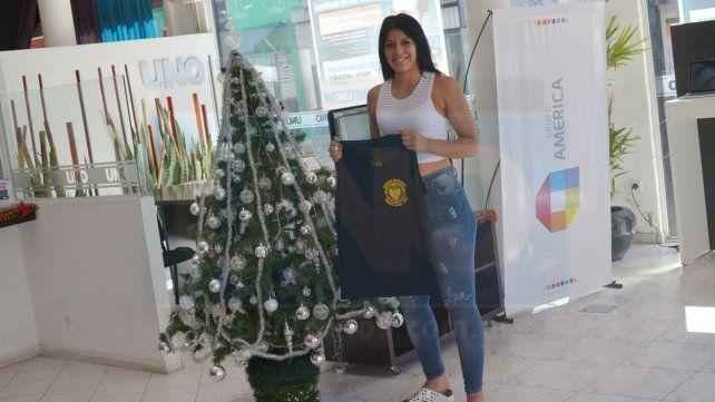 Débora Martínez visitó ayer la Redacción de UNO y repasó su año.