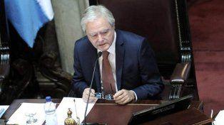 Federico Pinedo, Presidente Provisional del Senado de la Nación.