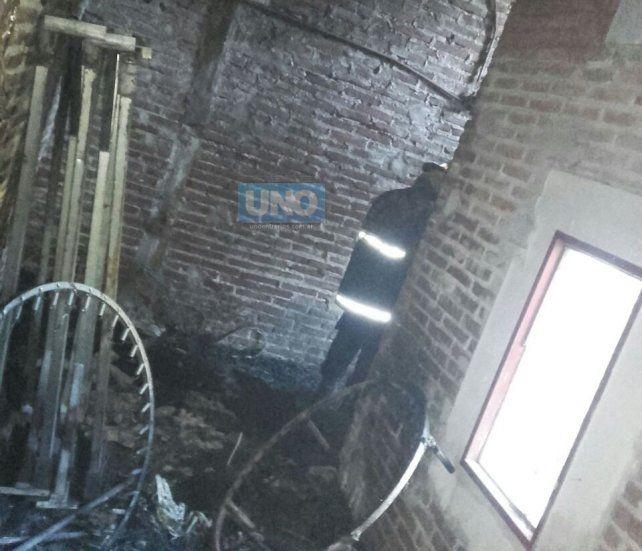 Lo llamativo es que solo se incendiaron los materiales de la Escuela de Circo.