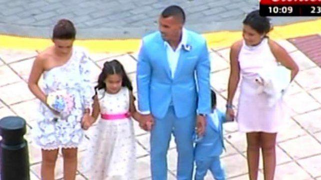 El casamiento de Carlitos Tevez y Vanesa Mansilla