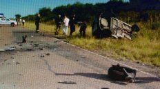 un muerto, varios lesionados y perdidas materiales en las rutas entrerrianas