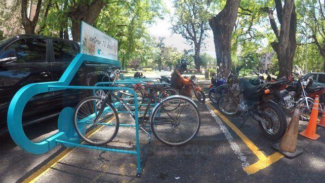 Ayer había dos bicicletas. Foto UNO.