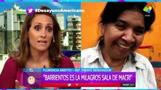 Margarita Barrientos es la Milagro Sala de Macri