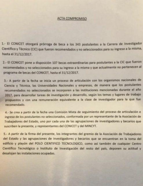 ¿Cómo es la propuesta del Gobierno para destrabar el conflicto en el Conicet?