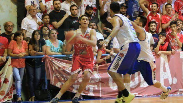 El joven jugador viene de consagrarse campeón con Talleres en el Torneo Oficial de la APB.