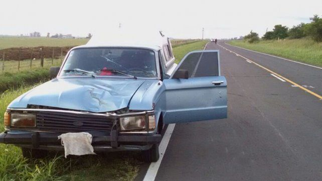 Accidente fatal en una ruta provincial