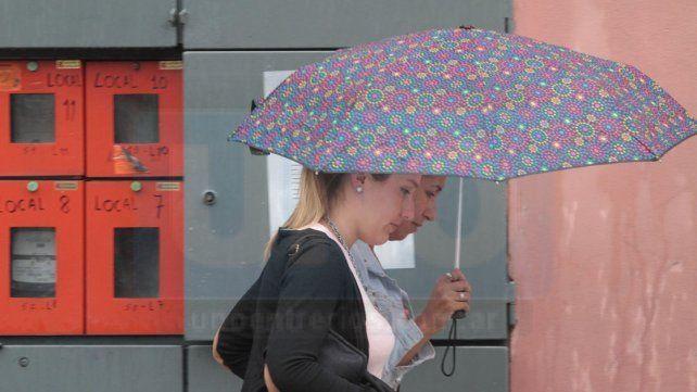 Rige un alerta meteorológico por lluvias intensas con ráfagas en Entre Ríos