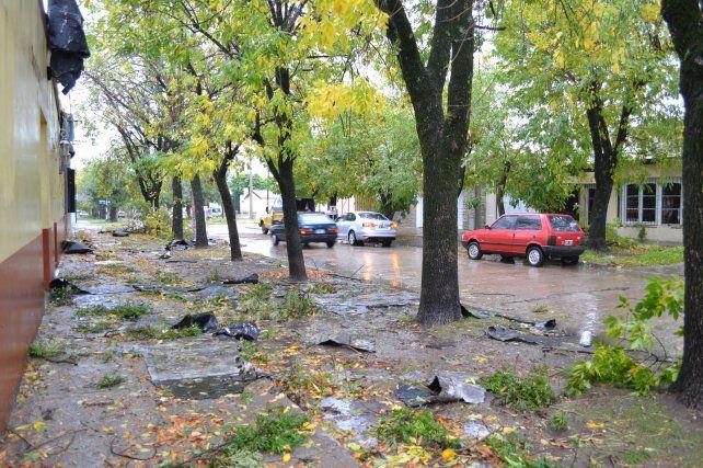 El gobierno provincial asiste a las localidades afectadas por las tormentas
