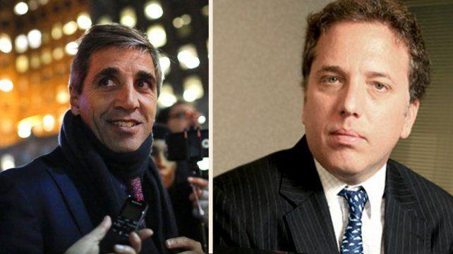Quiénes son Nicolás Dujovne y Luis Caputo