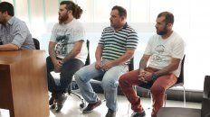 condenaron a tres acusados por el robo de armas de tribunales