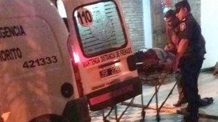 No resistió. Iglesias fue trasladado al hospital San Martín de Paraná