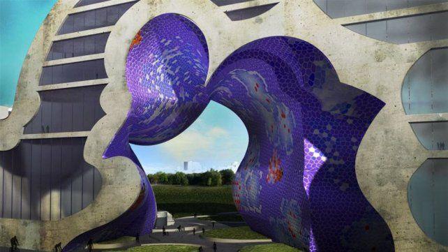 Diseño. Uno de los proyectos arquitectónicos de Pita