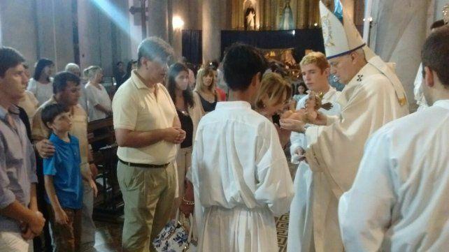 Navidad en la Catedral. Foto Arzobispado Paraná.