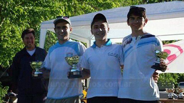 Copa Argentina. En Luján Clivio cosechó buenos puntos y fue segundo para después mandar en el Ranking Argentino.