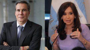 Ordenan investigar la denuncia de Nisman contra Cristina Kirchner