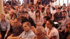 importante participacion en la audiencia publica por el transporte