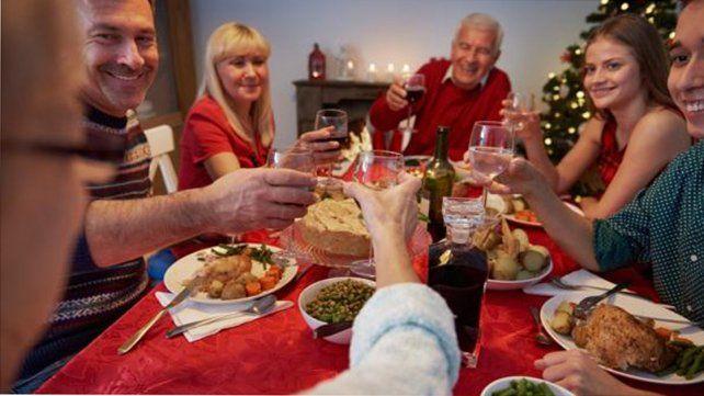 En la cena de fin de año se llegan a consumir hasta 3 mil calorías
