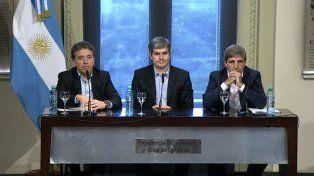 Nicolás Dujovne: Queremos que la inflación sea del 5% anual