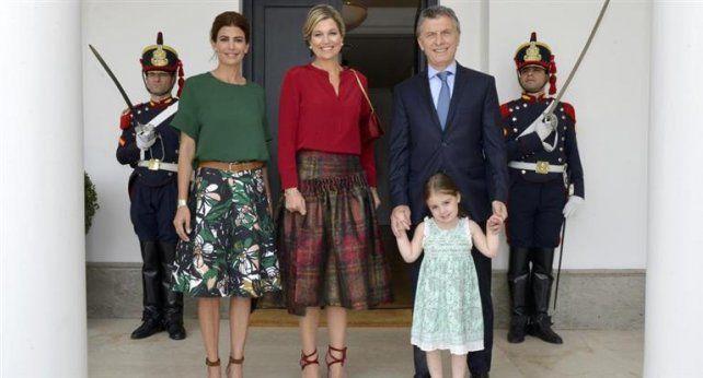 Macri y la reina Máxima juntos en Bariloche