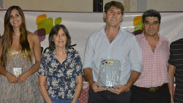 La ceremonia de premiación sirvió como cierre del año para el deporte de la ciudad entrerriana.
