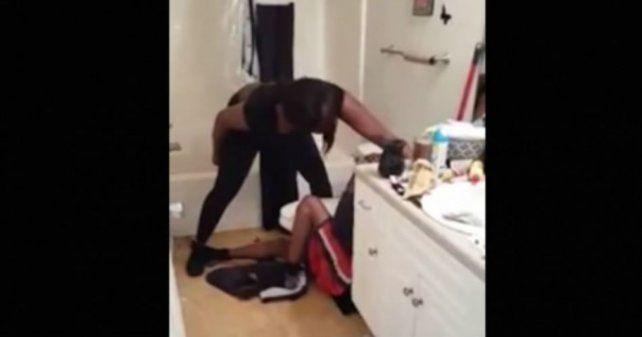 La mujer golpeadora