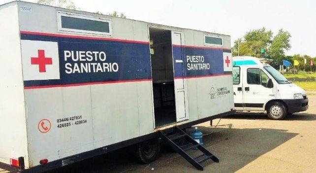 Refuerzo hospitalario en la costa de Paraná por el operativo Verano Seguro