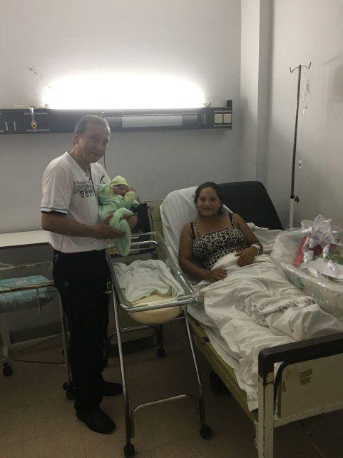 La primera beba entrerriana nació en el hospital San Antonio de Gualeguay