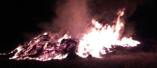 Bomberos Voluntarios trabajaron más de 15 horas en incendio de un aserradero en Concepción