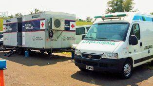 Prevención. Los puestos contarán con un equipo médico.