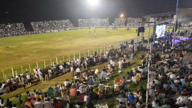 Multitud. El evento reúne a más de 30.000 personas cada año.