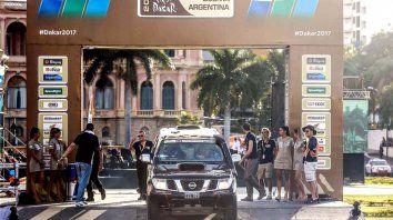La carrera estará en marcha hoy de manera oficial. Ayer fue una simbólica en Asunción.