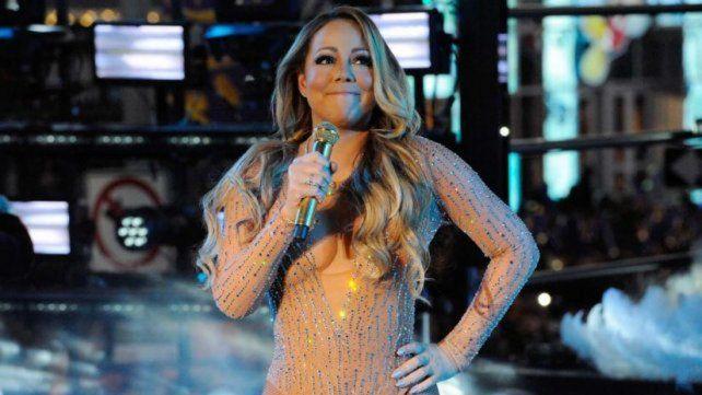 Mariah Carey: escandalosa actuación en Times Square