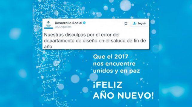 El Gobierno pidió disculpas por haber excluido a las Malvinas del mapa argentino