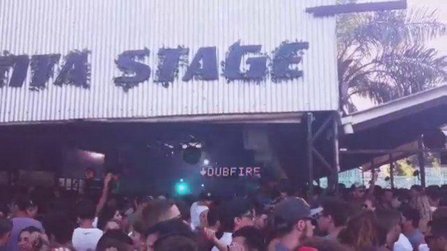 El Boliche Punta Stage.