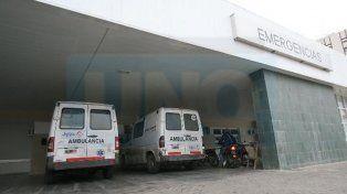 El hombre falleció antes de llegar al hospital San Martín de Paraná