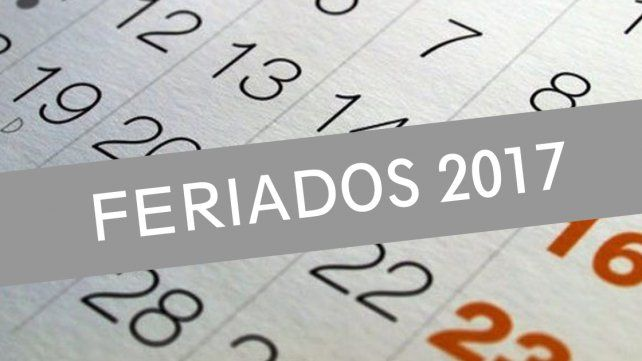 ¿Cuándo son los próximos feriados nacionales?