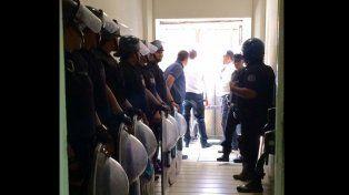 ATE denunció represión durante una protesta y anunció un paro