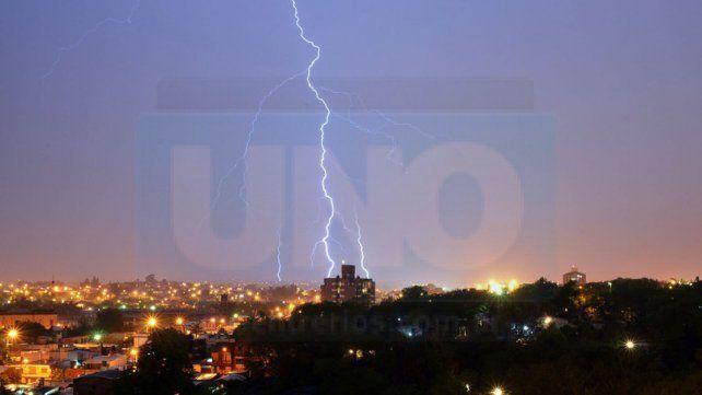 Rige un alerta por fuertes tormentas en Entre Ríos y otras seis provincias