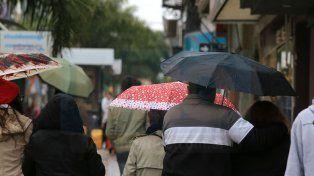 Jornada con lluvias, tormentas fuertes y una máxima de 30 grados