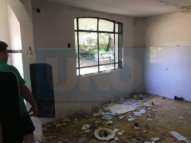 Miembros del Turf de Paraná denuncian el estado de abandono de las instalaciones del ex Hipódromo